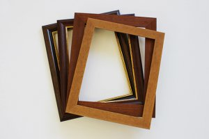 Assembled Wood Frames