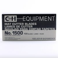 C+H Double Edge Heavy Duty Mat Cutting Blades