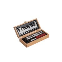 Knife Set in a Wooden Box