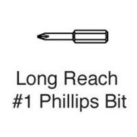 "1/4"" Phillips Head Driver Bit"