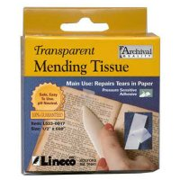 Pressure Sensitive Mending Tissue