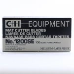 C+H Single Edge Regular Mat Cutting Blades
