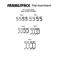 Framespace Trial Assortment