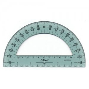 "6"" Protractor - 180 Degree"