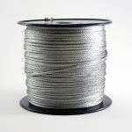 Galvanized Braided Picture Wire - #4