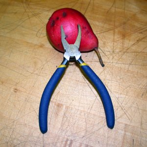 Angled Jaw Glass Pliers