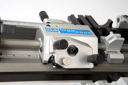Logan 855 Platinum Edge Mat Cutter Bevel Cutting Head Closeup