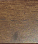 "2"" Dark Walnut Rustic Pine Sample"